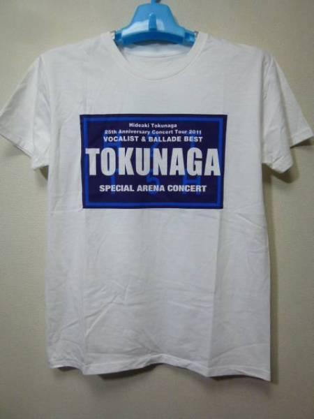 徳永英明 25th Anniversary Concert Tour 2011 VOCALIST&BALLADE BEST Tシャツ