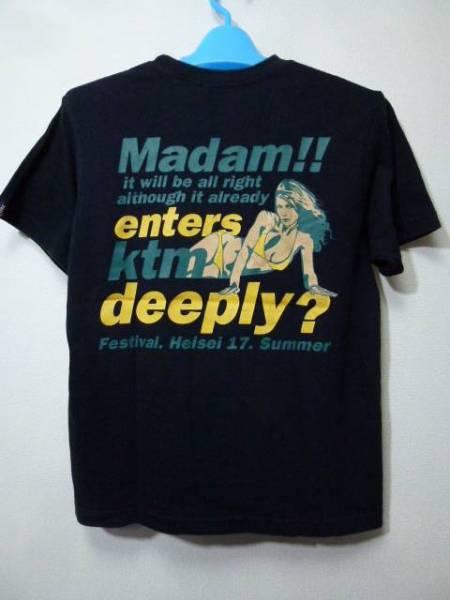 ケツメイシ 2005マダム夏フェスツアーTシャツ・S(KTM)