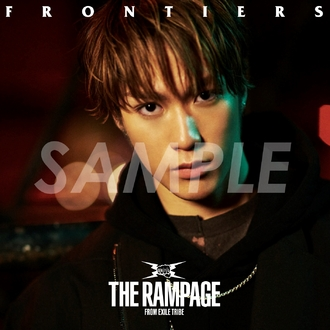 THE RAMPAGE from EXILE TRIBE アザージャケット カード 藤原樹 FRONTIERS ライブグッズの画像