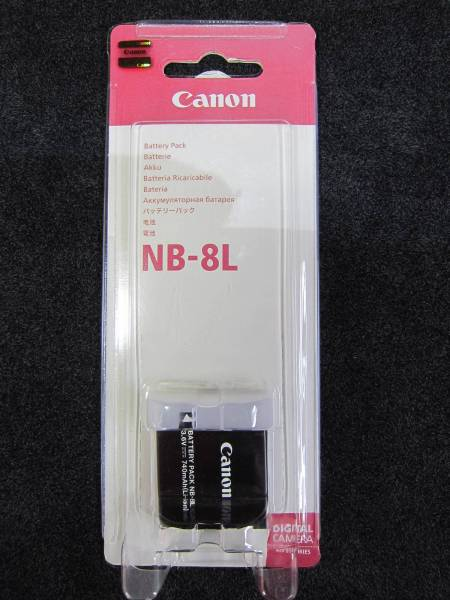 新品未開封◆キャノンCanon NB-8L 純正バッテリーパック PowerShot A3300 IS/A3200 IS/A3100 IS/A2200対応 検/ 互換