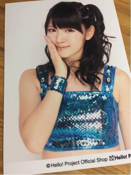 鈴木愛理 写真 ⑧ ブルー 衣装 ℃-ute キュート ハロプロ ライブグッズの画像