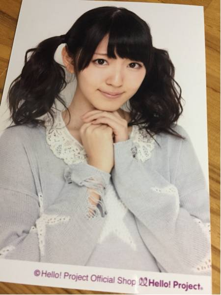 鈴木愛理 写真 ツインテ ① 衣装 ℃-ute キュート ハロプロ ライブグッズの画像