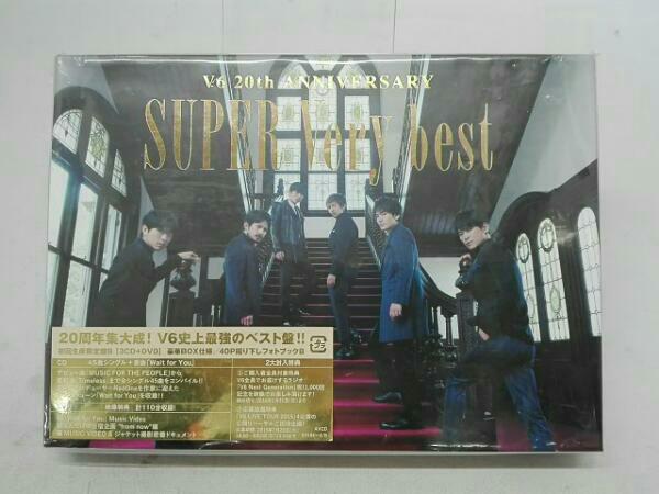【安心梱包】V6 SUPER Very best(初回生産限定盤B)(DVD付) コンサートグッズの画像