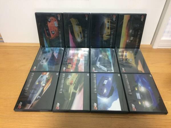 頭文字D(イニシャルD) FOURTH STAGE 全12巻 DVD グッズの画像