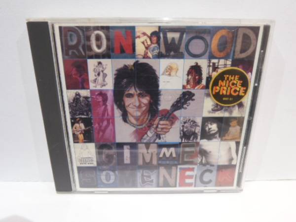 USA盤 RON WOOD ロン・ウッド GIMME SOME NECK