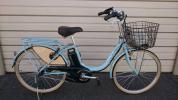 売切 極上美品 アシスタ ベーシック ブリジストン電動自転車 マリノブルー 24インチ 乗車回数2回 新基準 福岡市