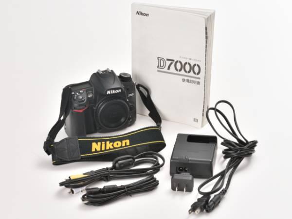 ☆GWのお供に! ニコン Nikon D7000 ボディー バッテリーパック付き ☆