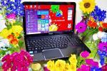 東芝 dynabook T552/58GB◆win10/伝家の宝刀Core i 7/Bluray/8GB/新品SSD電光石火仕様/黒光り品