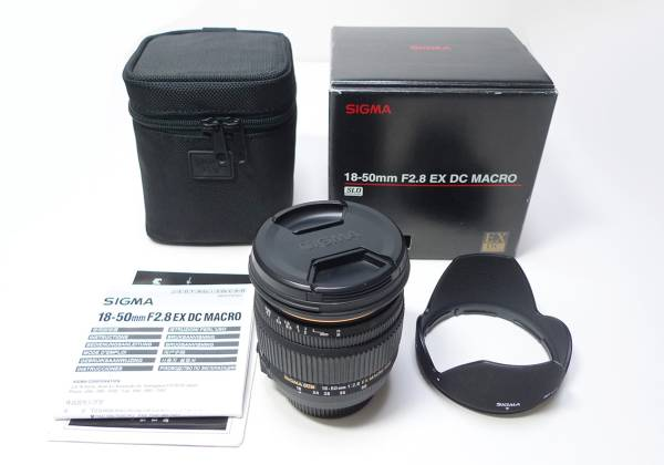 ★SIGMA シグマ 18-50mm F2.8 EX DC MACRO ニコン デジタル AF用 ★
