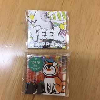 新品未使用☆2PM☆ジュノ☆缶バッチ☆東京限定☆FEEL☆2個セット☆1