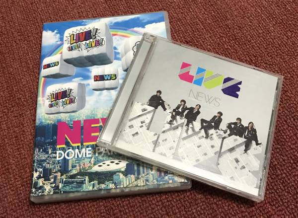 NEWS LIVE!×3 DVD CD