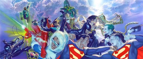 DCコミックス スーパーマン バットマン ジョーカー グリーンランタン 限定 レア Alex Ross グッズの画像