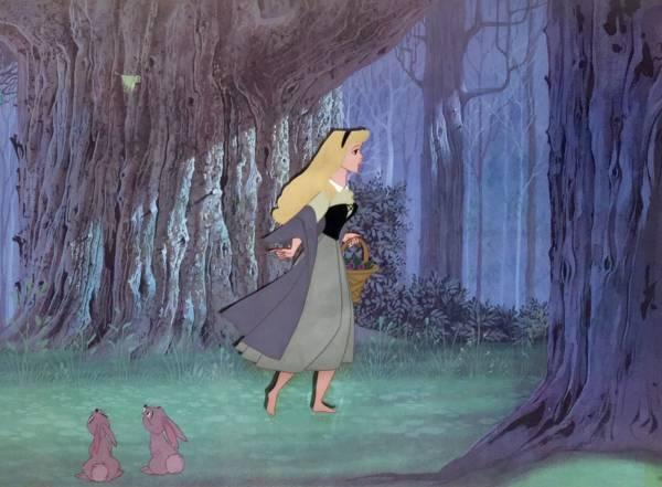 ディズニー 眠れる森の美女 オーロラ姫 ブライアローズ 原画 セル画 限定 レア Disney 入手困難 ディズニーグッズの画像