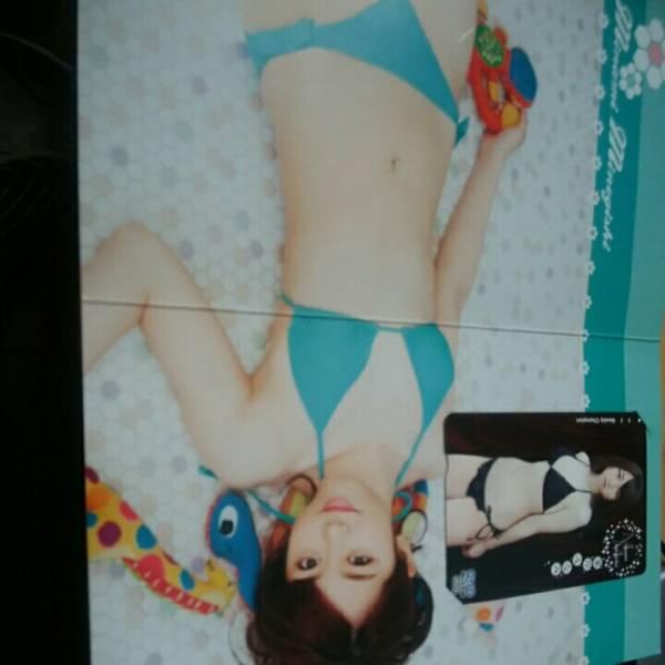 週刊少年チャンピオン☆応募者全員サービス☆ノースリーブス☆AKB48☆峯岸みなみ☆クオカード☆QUO ライブグッズの画像