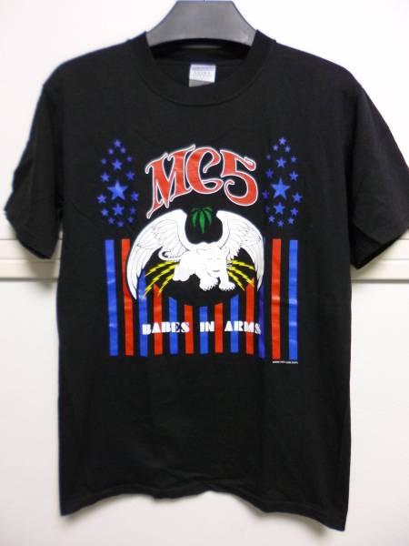 希少 MC5 Tシャツ ブラック S 検イギーポップ IGGYPOP ストゥージズ プライマルスクリーム ヒス