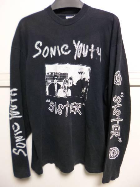 希少 80s SONIC YOUTH ソニック・ユース ロングスリーブ Tシャツ SISTER ニルヴァーナ NIRVANA ダイナソーJR フレーミングリップス