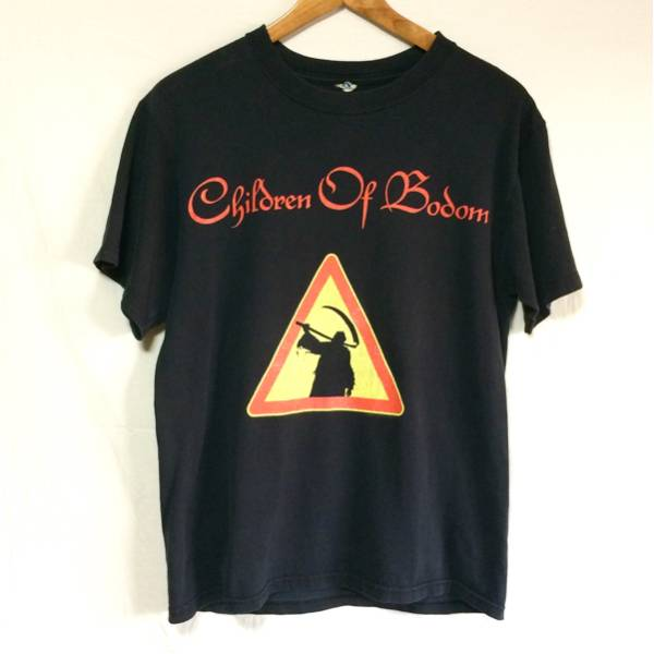 90's バンドT children of bodom Tシャツ anvilバータグ 検 ビンテージ vintage megadeth in flames Slipknot Marilyn Manson Metallica
