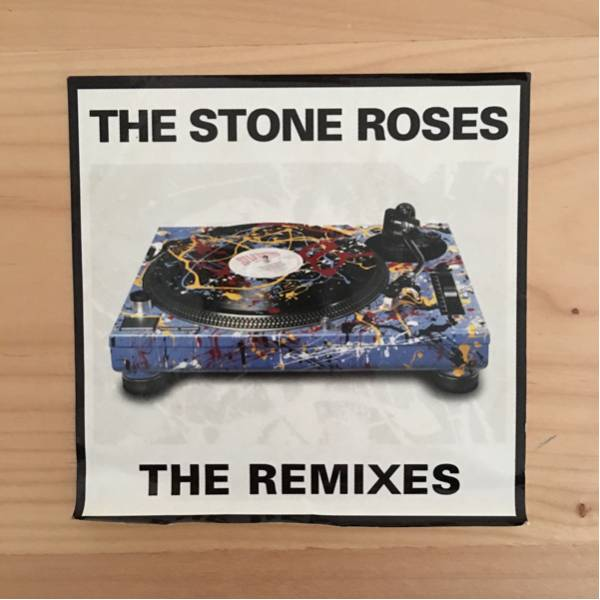 THE STONE ROSES 『THE RIMIXES』のシール