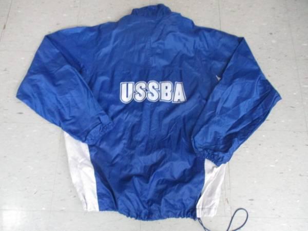 中古!マーチングバンド・USSBA 大会スタッフ用ウエア・ウインドブレーカー上下セット・アメリカンMサイズ
