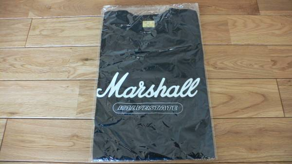 希少 Marshall VALVESTATE ロゴTシャツ 新品未開封品