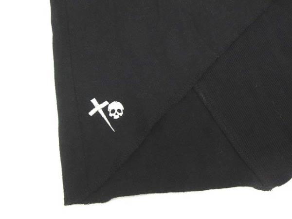 Barak カットソー 丸首 半袖 黒 ブラック size 99_画像5