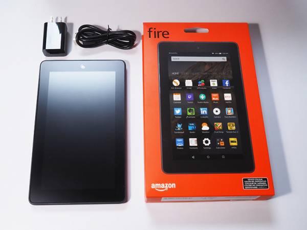 ★新品同様★Amazon fire タブレット 8GB ブラック 1~2回使用