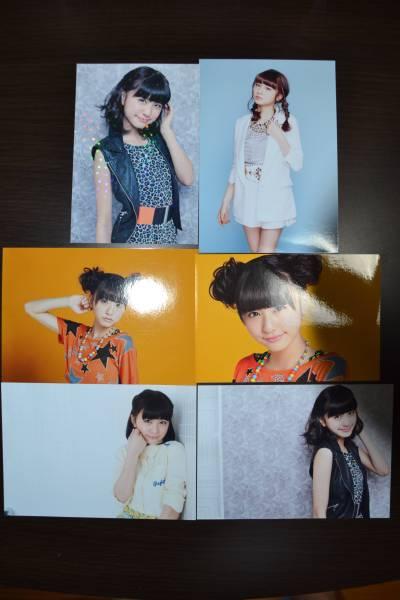 フェアリーズ 林田真尋 生写真&フォトカード 6枚セット ライブグッズの画像