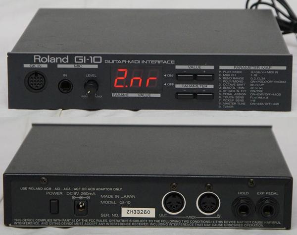■Roland ギターシンセサイザー GI-10