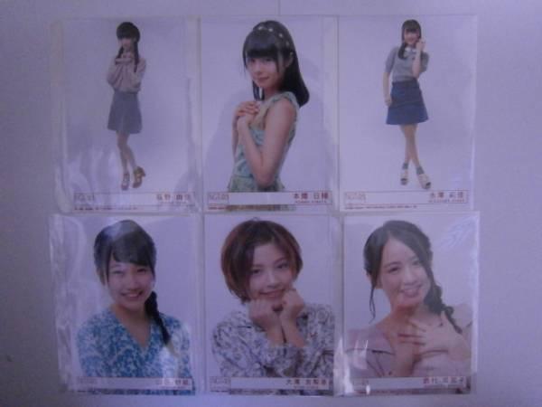 NGT48「青春時計」生写真 12種セット④ ライブグッズの画像