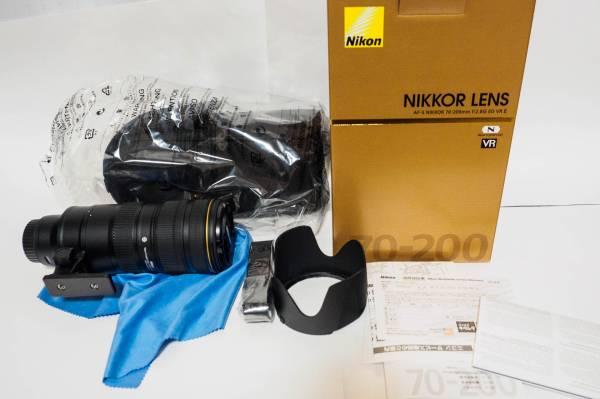 新品同 ニコン AF-S NIKKOR 70-200mm f/2.8G ED VR II