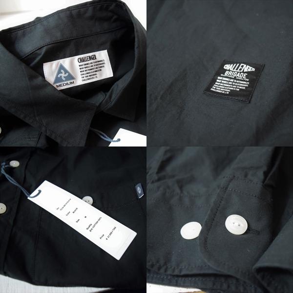 CHALLENGER チャレンジャー L/S A.A.A SHIRT 刺繍 ワークシャツ M 未使用 定価21000円 長袖シャツ_画像3