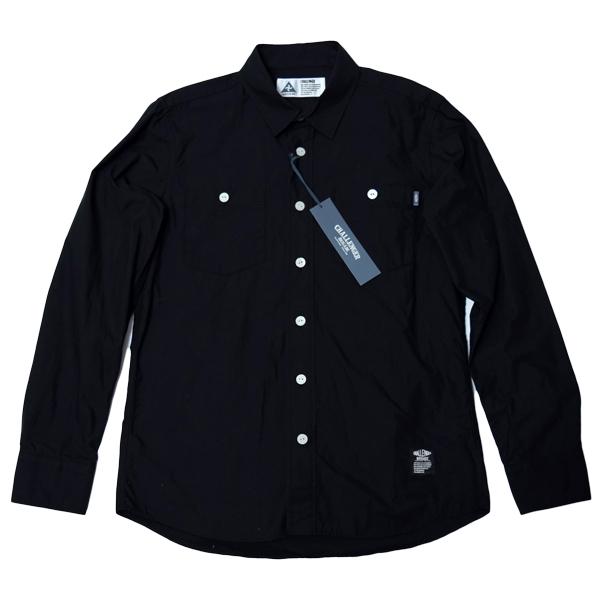 CHALLENGER チャレンジャー L/S A.A.A SHIRT 刺繍 ワークシャツ M 未使用 定価21000円 長袖シャツ_画像1