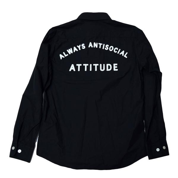 CHALLENGER チャレンジャー L/S A.A.A SHIRT 刺繍 ワークシャツ M 未使用 定価21000円 長袖シャツ_画像2
