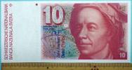 世界の紙幣【スイス連邦】10フラン 1976年 未使用 一円〜