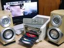 Panasonic パナソニック SC-PM3DVDF チェンジャー リモコン付 ホワイト