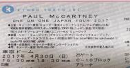 ポールマッカートニー 4/30最終日 アリーナ C10 1~2列