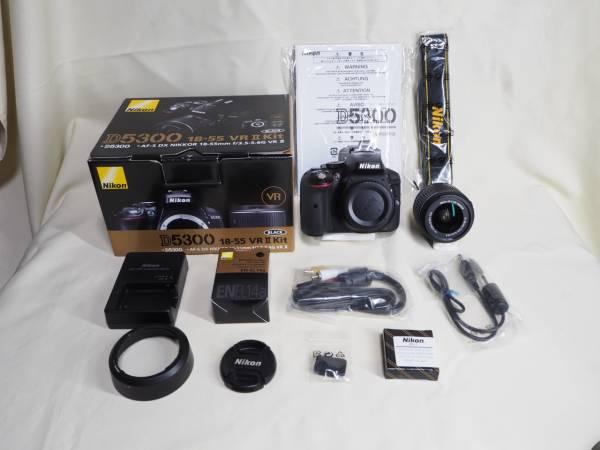 ニコン Nikon D5300 18-55 VR IIレンズキット ボディ+レンズ 美品 完品 防湿庫保管 ワンオーナー