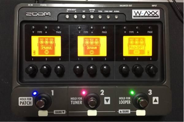 ZOOM G3 WAXX MOD
