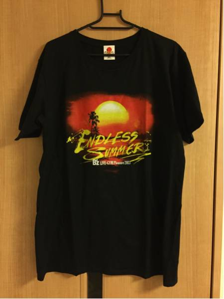 美品 B'z LIVE-GYM Pleasure 2013 ENDLESS SUMMER Tシャツ サイズXL 稲葉浩志