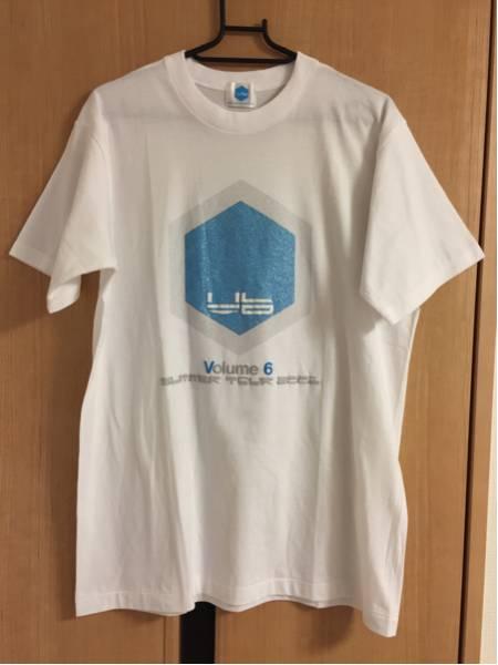 美品 V6 Volume6 SUMMER TOUR 2001 Tシャツ フリーサイズ 岡田准一 森田剛 三宅健 坂本昌行 長野博 井ノ原快彦 コンサートグッズの画像