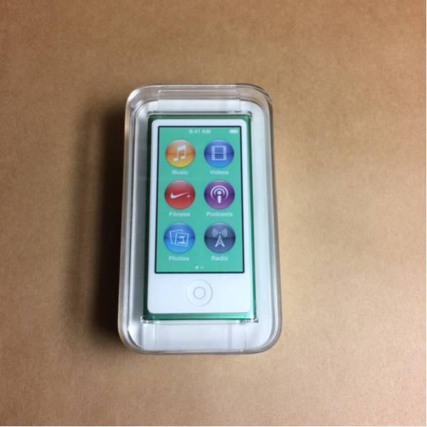 【未使用品】iPod nano 第7世代 グリーン 16GB 【アイポッド】