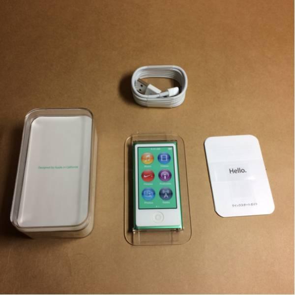 【未使用品】iPod nano 第7世代 グリーン 16GB 【アイポッド】_画像2