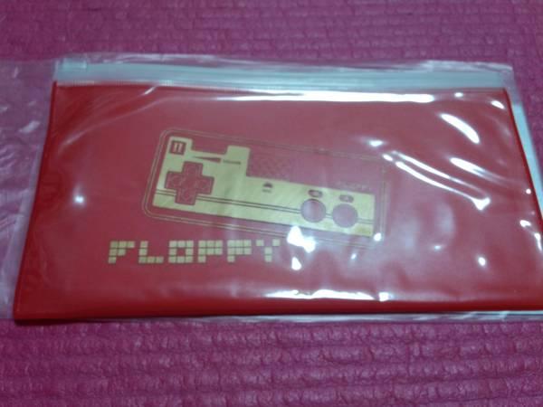 FLOPPY [クリアフラットケース] 赤 ファミコンリモコン / メトロノーム 新宿ゲバルト シンセサイザーズ ビートサーファーズ
