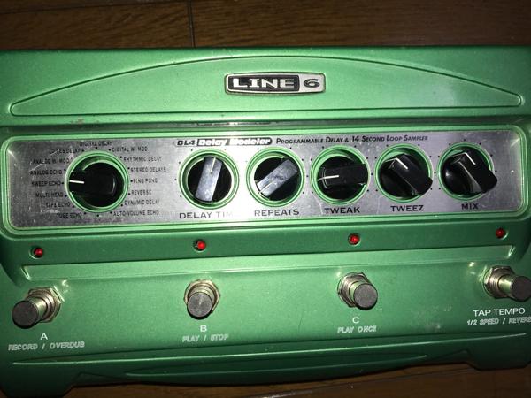 LINE6 DL-4 delay ディレイモデラー