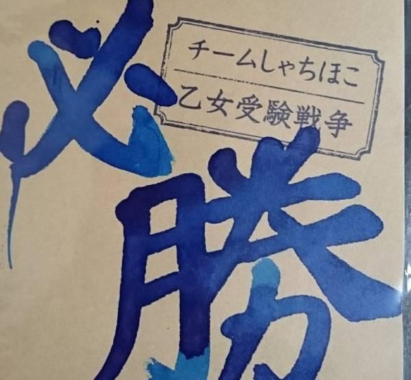 チームしゃちほこ 乙女受験戦争 咲良菜緒 落書きサイン ライブグッズの画像