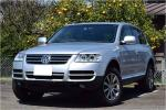 off-road unused car dress up car V.W Touareg V6 inspection maintenance past record record great number have! exhibiting . present car verification possibility! certainly present car verification how??