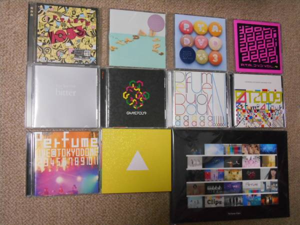 Perfume CD DVDセット PTA1053DVD 東京ドーム1234567891011(初回限定) etc ライブグッズの画像