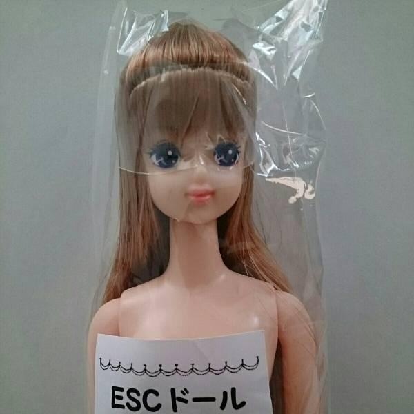 リカちゃんキャッスル ESCドール サユリ ロングヘアー ジェニーフレンド ドール 前髪あり 金髪とライトブラウンっぽいカラーのミックスです