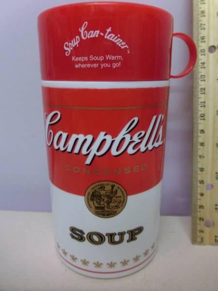 キャンベル スープ 水筒 容器 企業物 Campbells campbellsoup 検 アンディ・ウォーホル Andy Warhol インテリア_画像1