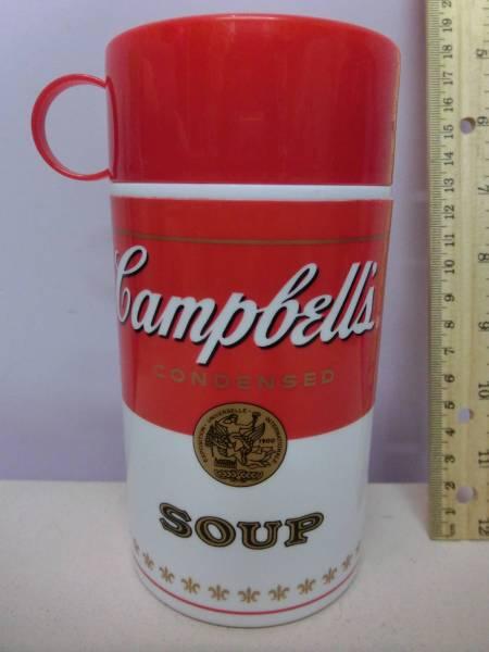 キャンベル スープ 水筒 容器 企業物 Campbells campbellsoup 検 アンディ・ウォーホル Andy Warhol インテリア_画像3